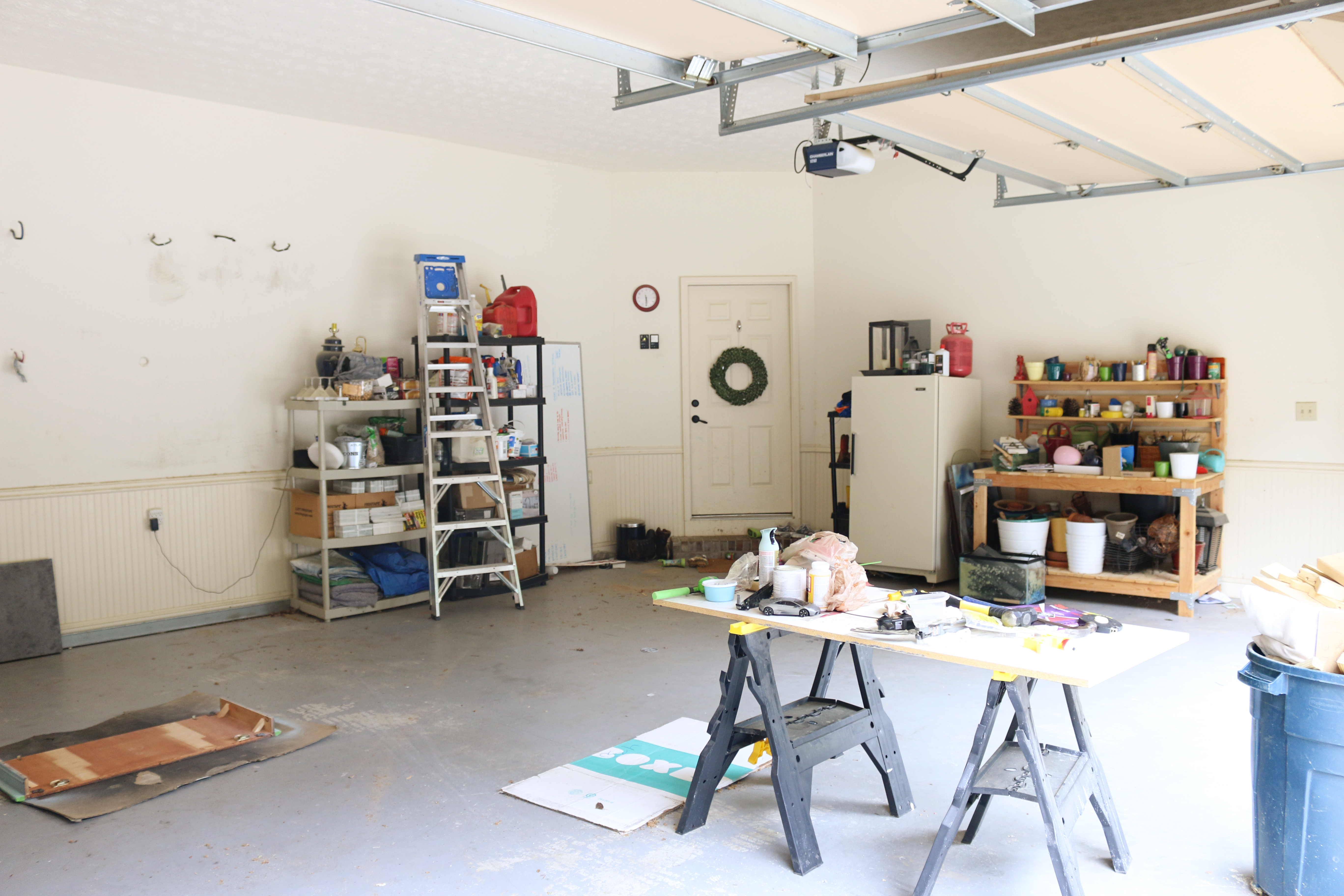 Garage workshop & gym   the reveal   bower power
