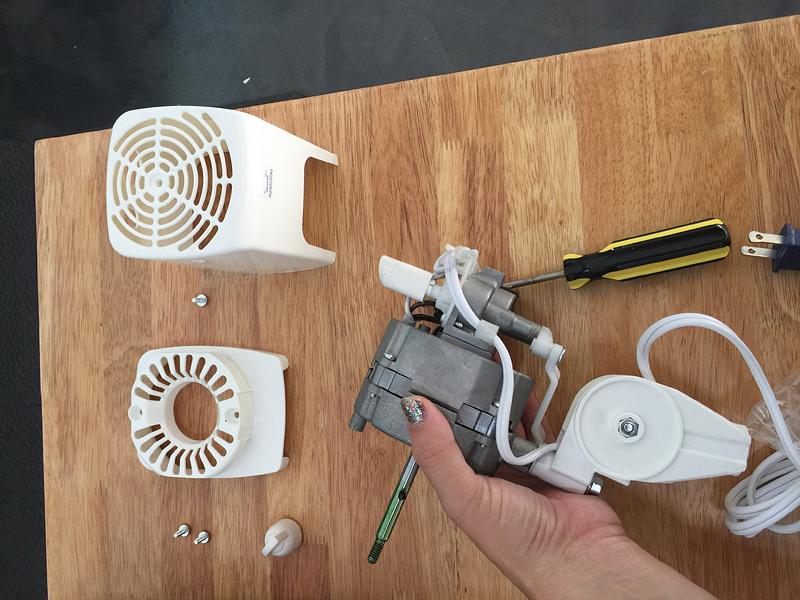 DIY Tripod Fan