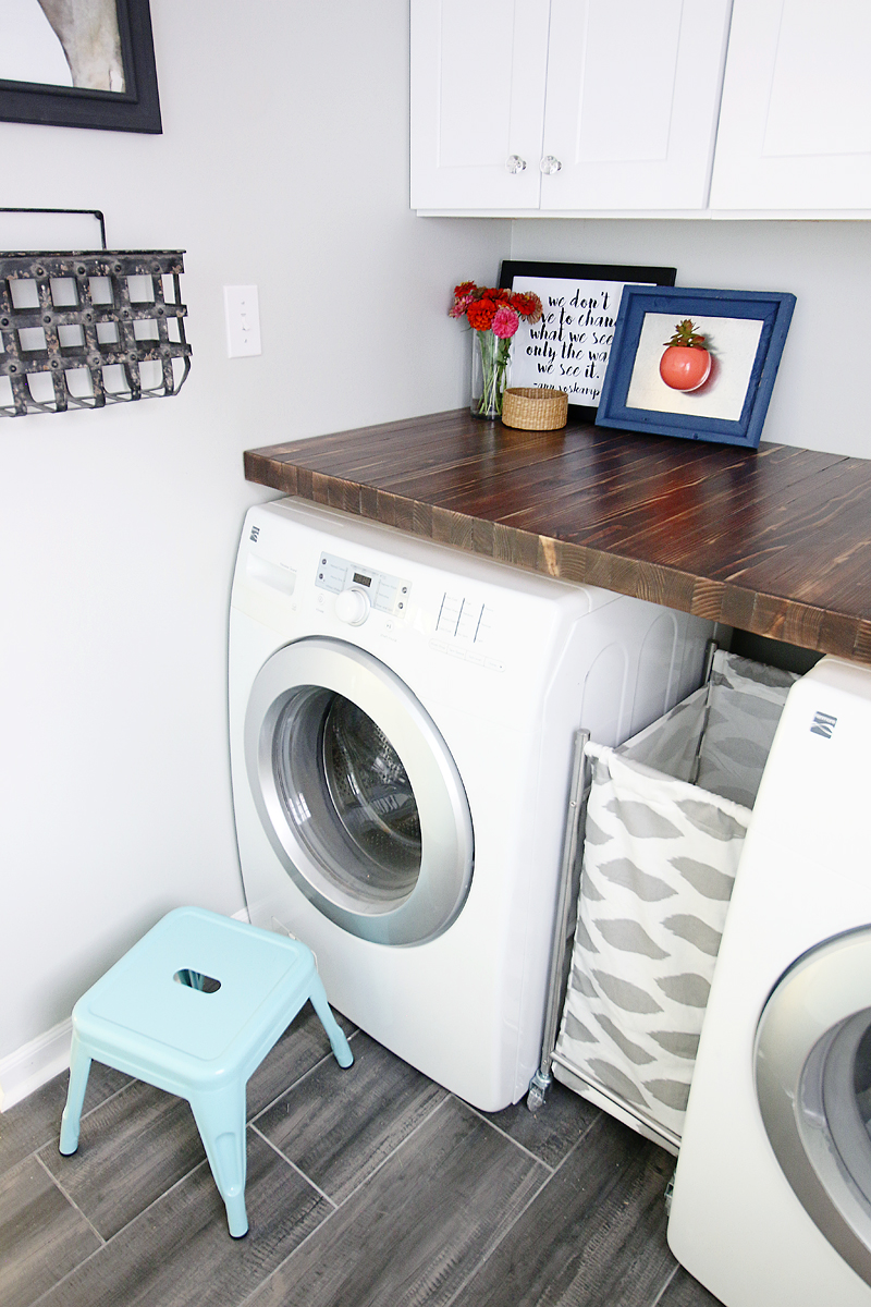 Pedraza Laundry Room Reveal - Bower Power