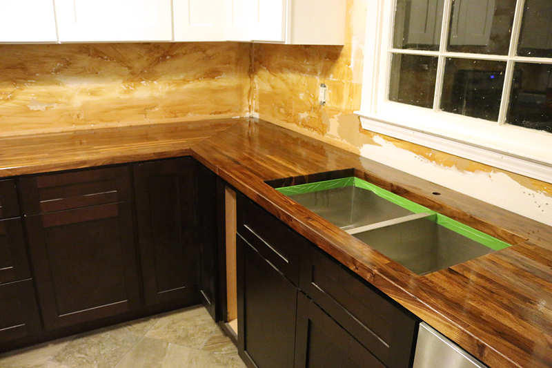 How To Cut Seal Amp Install Butcherblock Countertops With