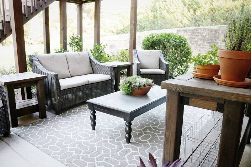 Patio CleanUp Makeover - Bower Power