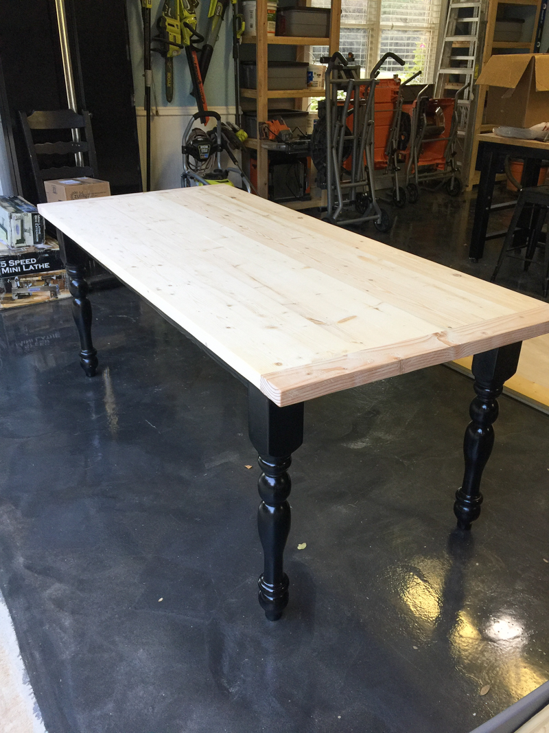 table leg upcycle Bower Power-7