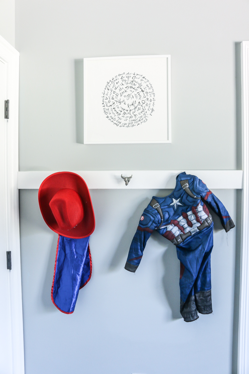 Little Boy Nursery hooks storage - Bower Power-21