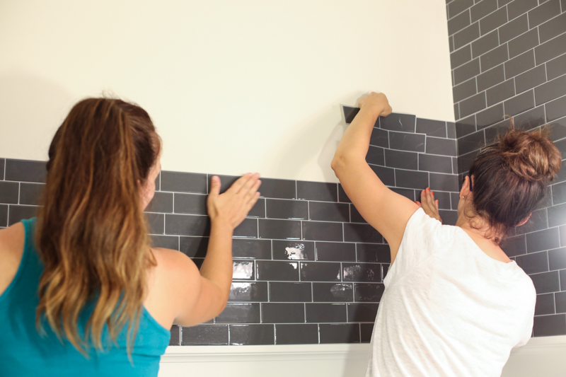 Smart Tiles Bathroom Makeover - Bower Power-12