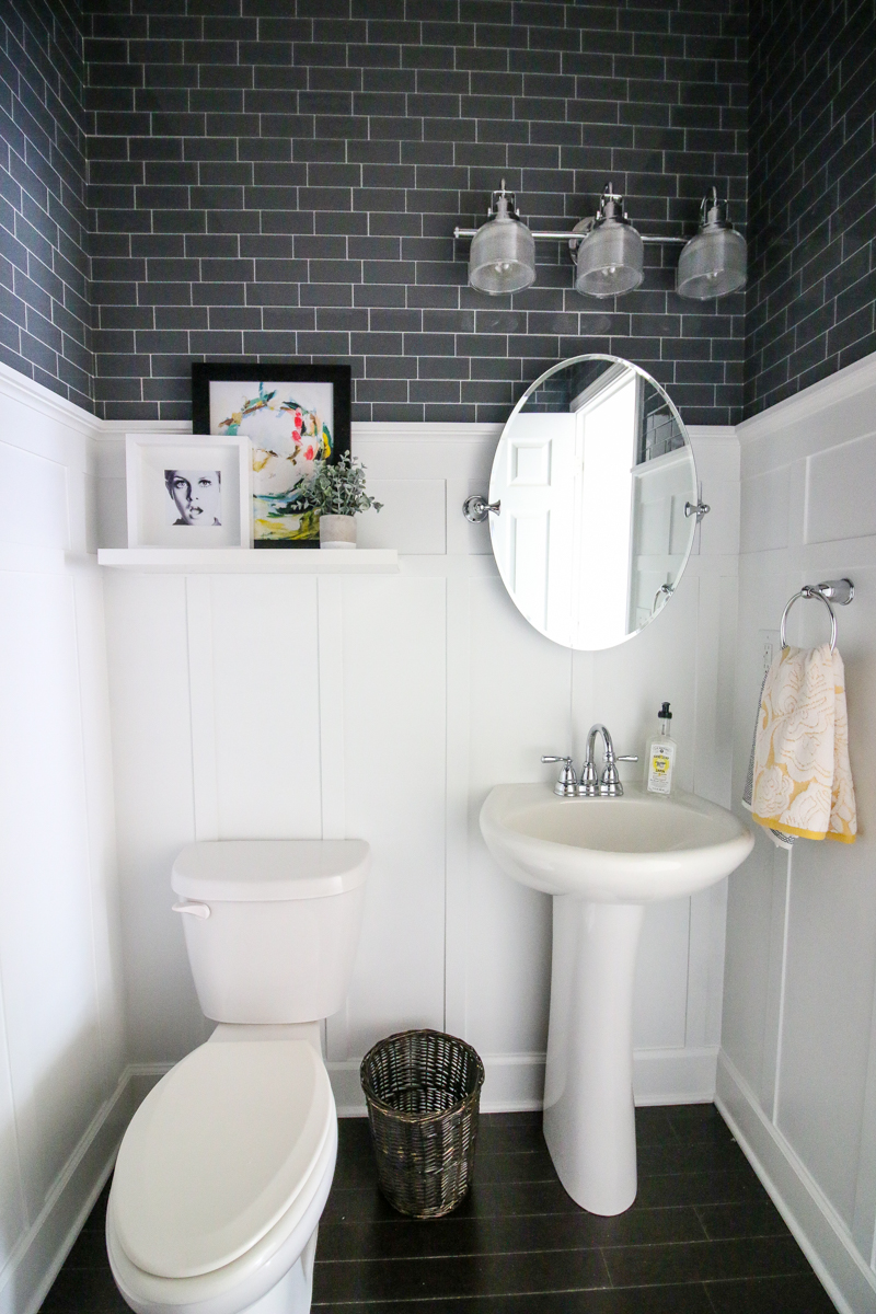 Smart Tiles Bathroom Makeover - Bower Power-16