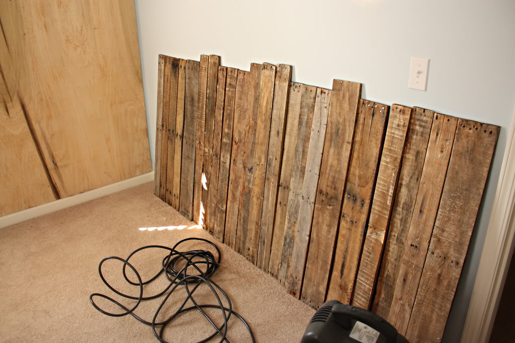 How to DIY a Pallet Accent Wall - Bower Power