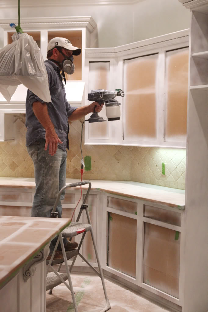My Kitchen Magician Bower Power, What Type Of Paint Sprayer Is Best For Kitchen Cabinets
