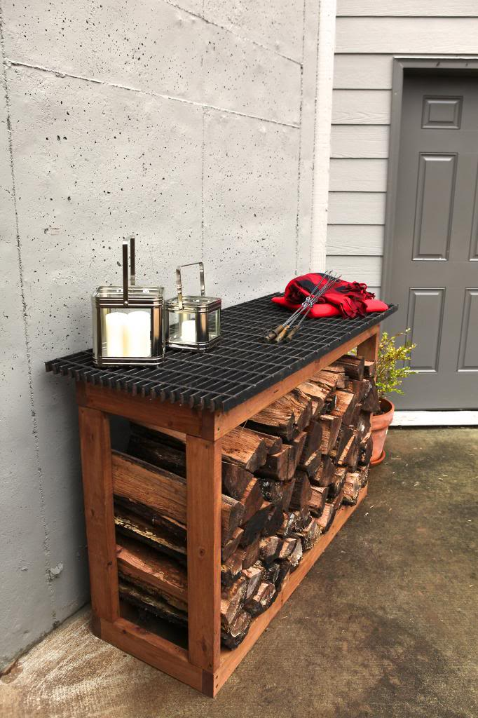 and - Firewood Rack