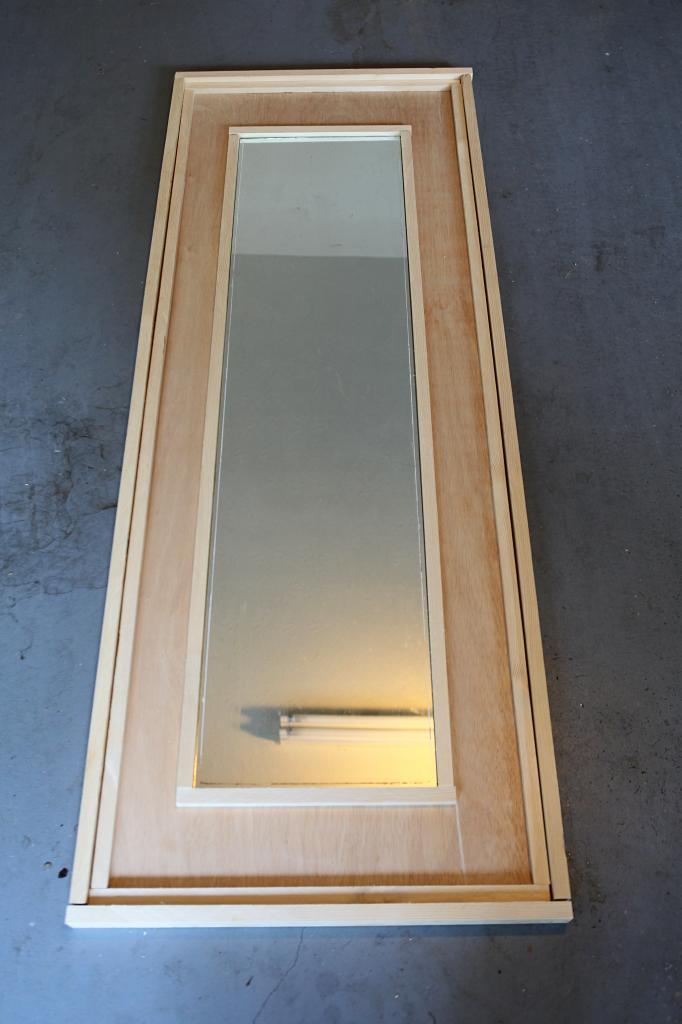 Leaning Floor Mirror DIY - Bower Power
