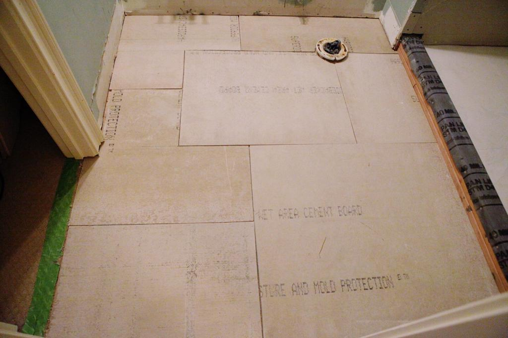 How To Install Cement Board For Tile Bower Power