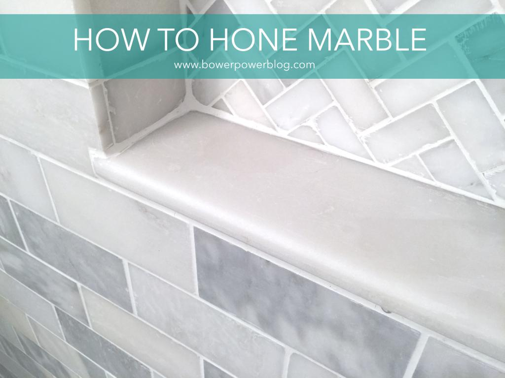 How To Hone Marble Tile Bower Power