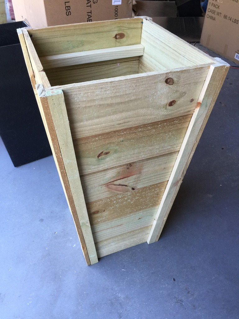 How To Build Your Own Tall Outdoor Planter Boxes Bower Power