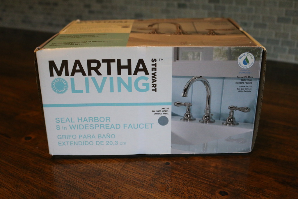We Had Found This Martha Living Faucet On And Thought That It Was A Great Fit For Our Future Laundry Room Sink