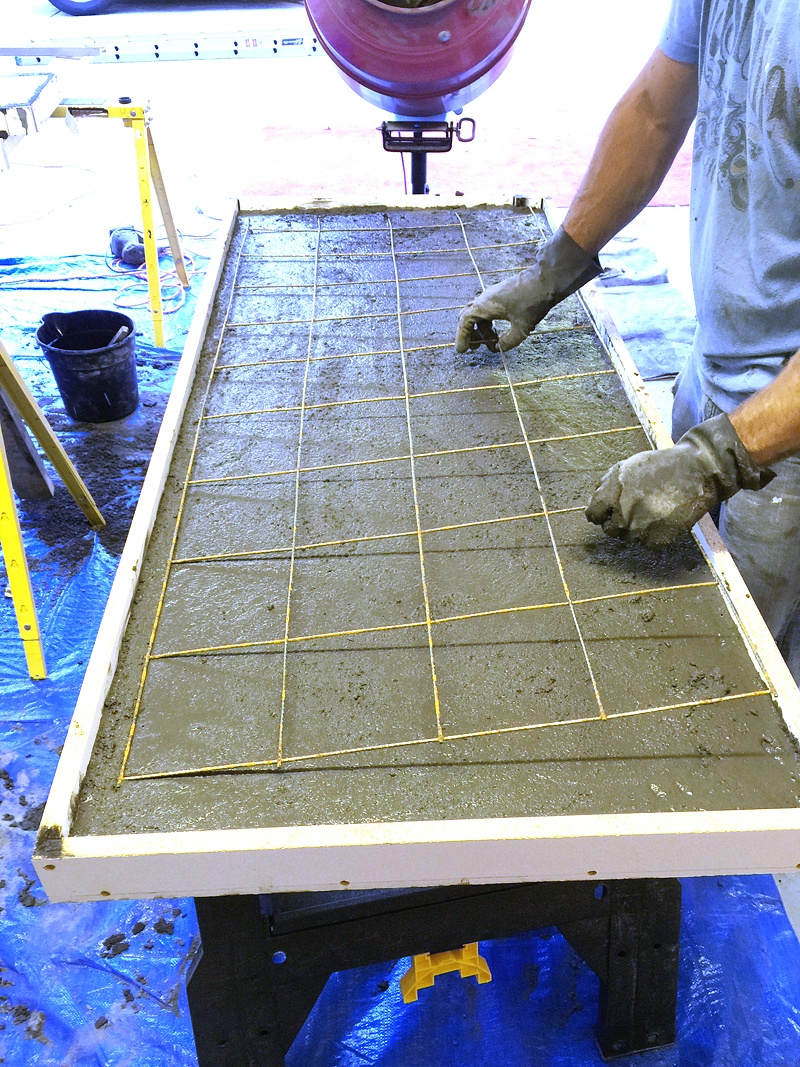 how to do concrete countertops bower power