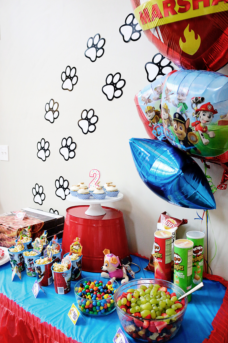 Paw Patrol Birthday Party Ideas - Bower Power