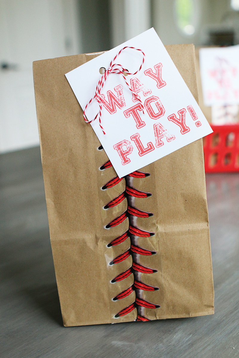 ball game snack bags bower power