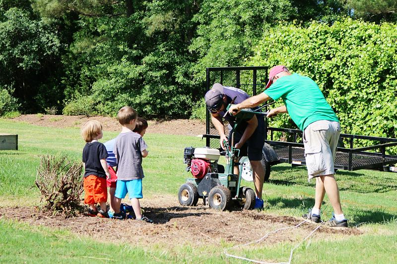 Grading for a Garden - Bower Power