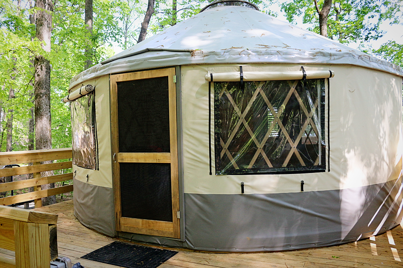 Yurt Camping - Bower Power