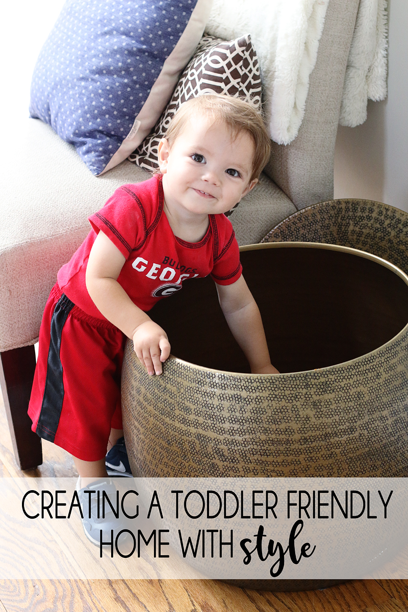 Decorating with Toddlers
