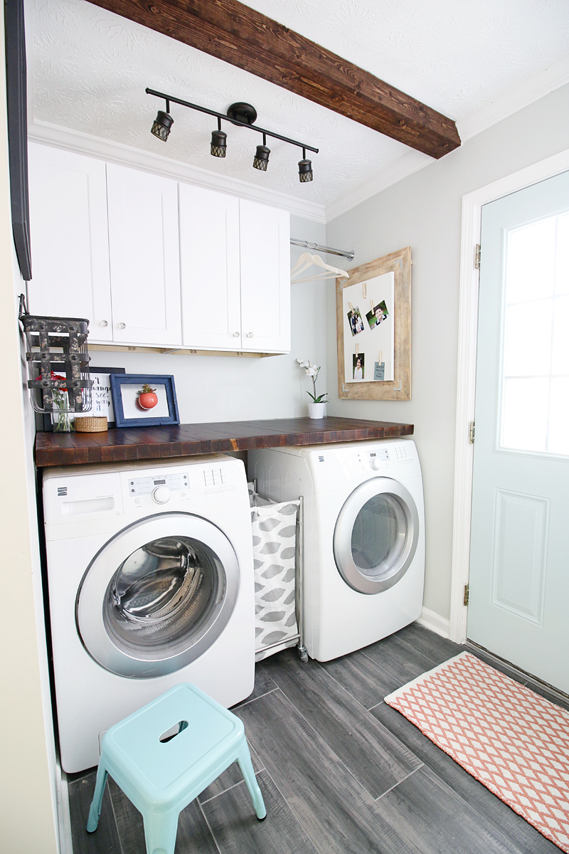 Pedraza Laundry Room - Bower Power Blog