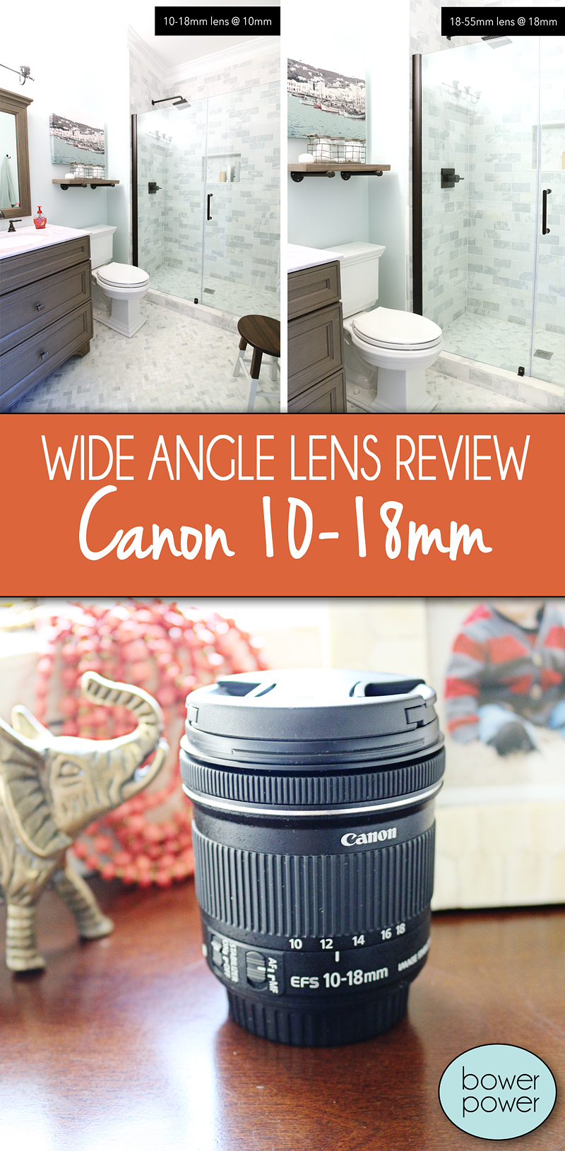 10 18mm Lens Review (Itu0027s Awesome For Wide Angle Interior Photography!)    Bower Power