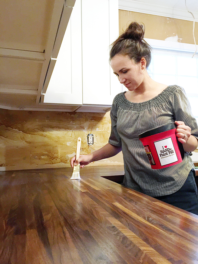 how to cut seal install butcherblock countertops with an undermount sink bower power. Black Bedroom Furniture Sets. Home Design Ideas