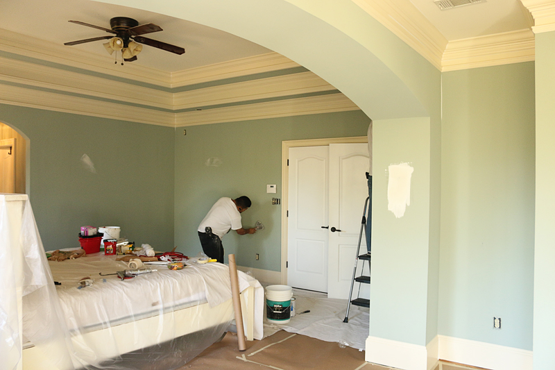 Repainting Master Bedroom - Bower Power