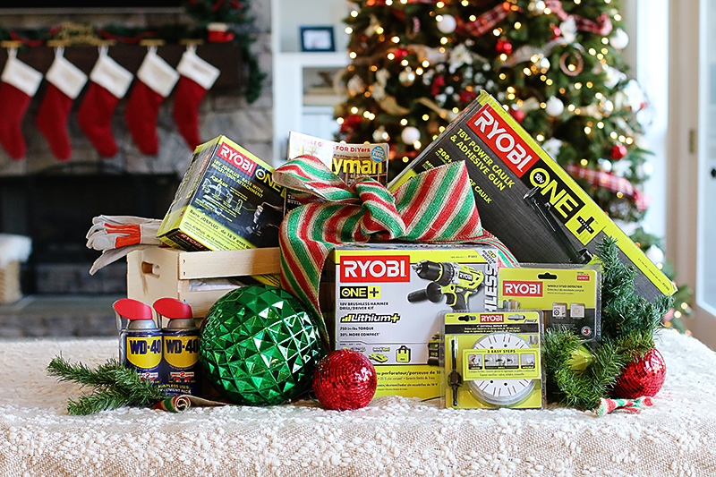 Christmas Crates tool gift baskets - Bower Power