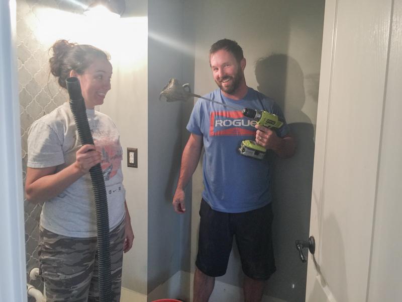 First Floor Bathroom Tile Curve Bower Power-23