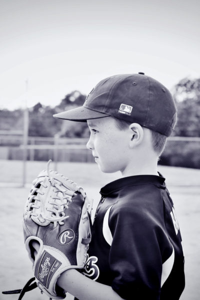 Pictures you should definitely take of your Little Baseball Player