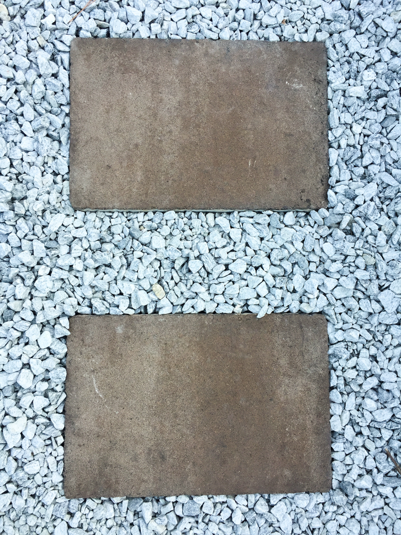 Staining Concrete Pavers Garden Update - Bower Power-20