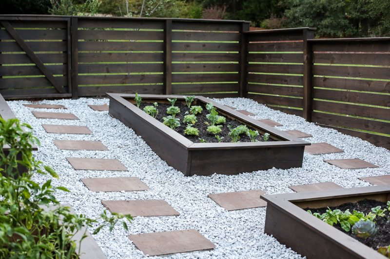 Staining Concrete Pavers Garden Update - Bower Power-39