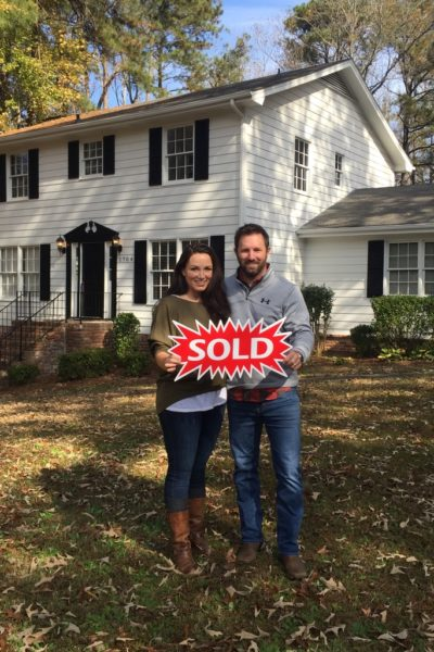 How We Sold Our First House