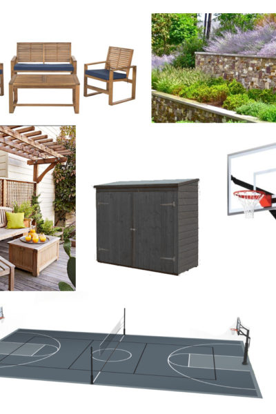 Plans For Our Outdoor Court
