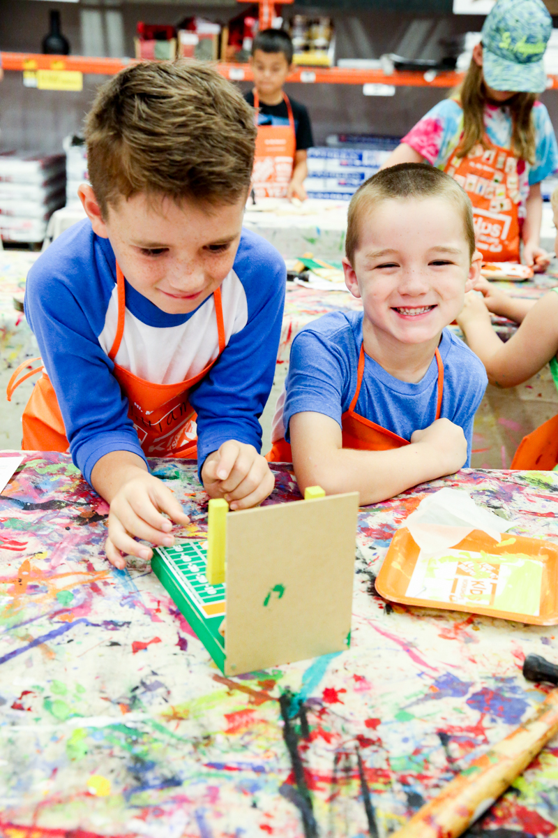 The Home Depot Kids Workshop Bower Power