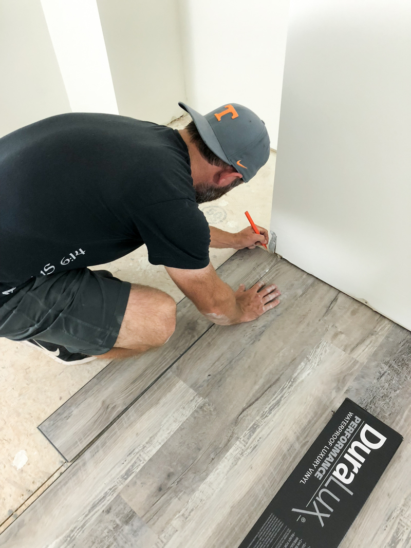 How To Install Luxury Vinyl Plank Flooring Bower Power