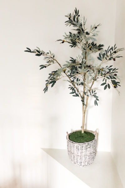How to Pot Your Faux Trees