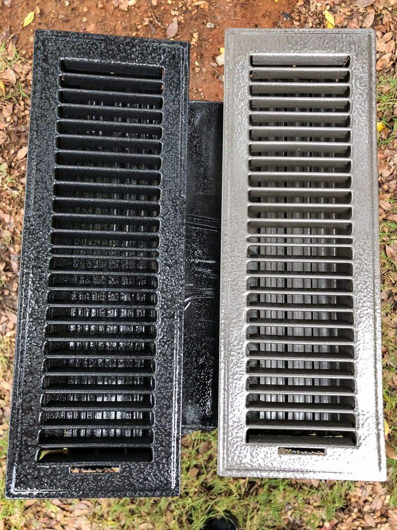 Spraypainting Vent Covers Bower Power