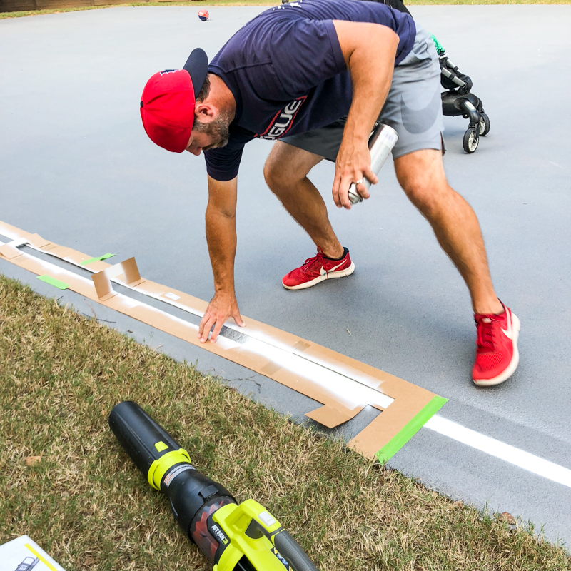 How To Transform A Concrete Pad With Granite Grip Bower