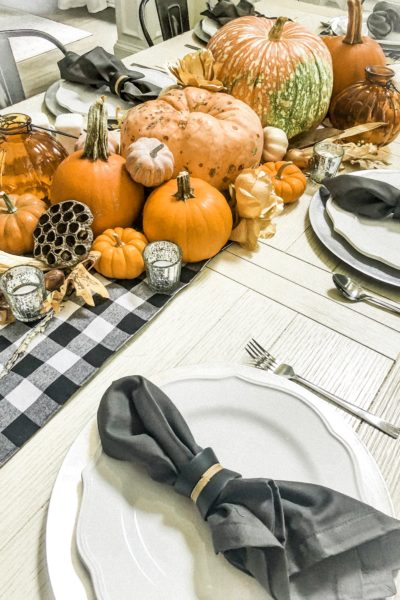 Eight Easy Thanksgiving Table Settings